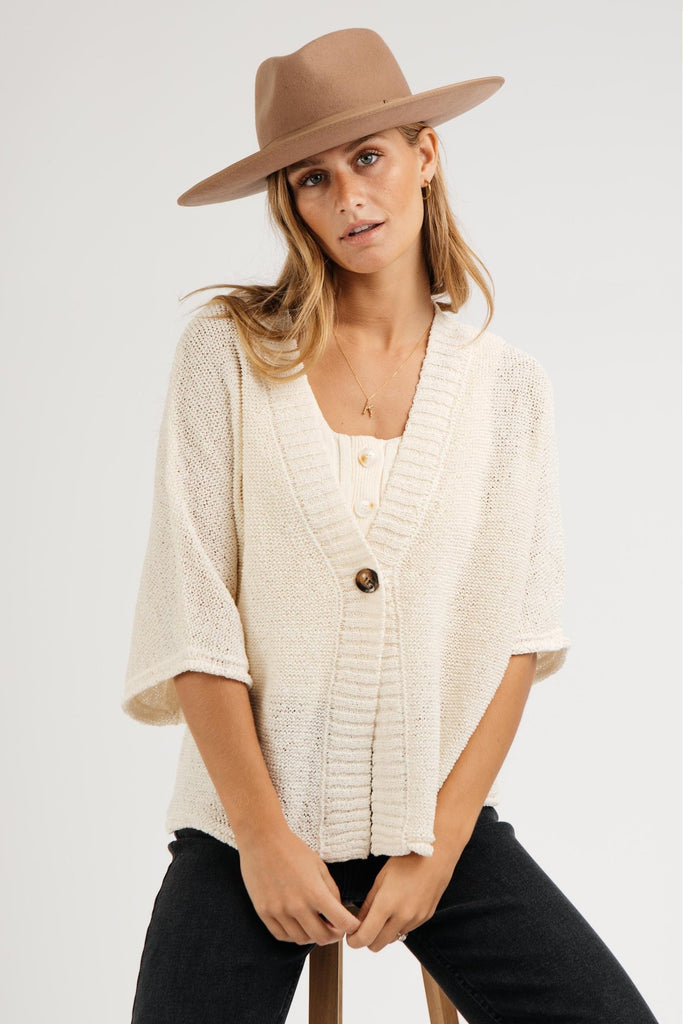 dreamy button cardigan