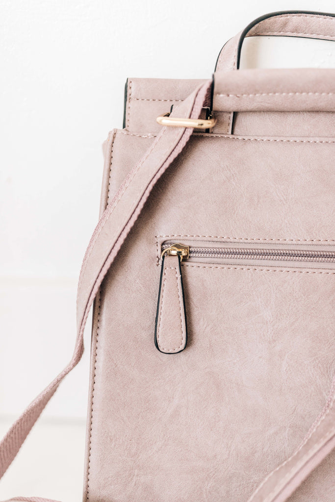 kendall backpack // mauve *restocked*
