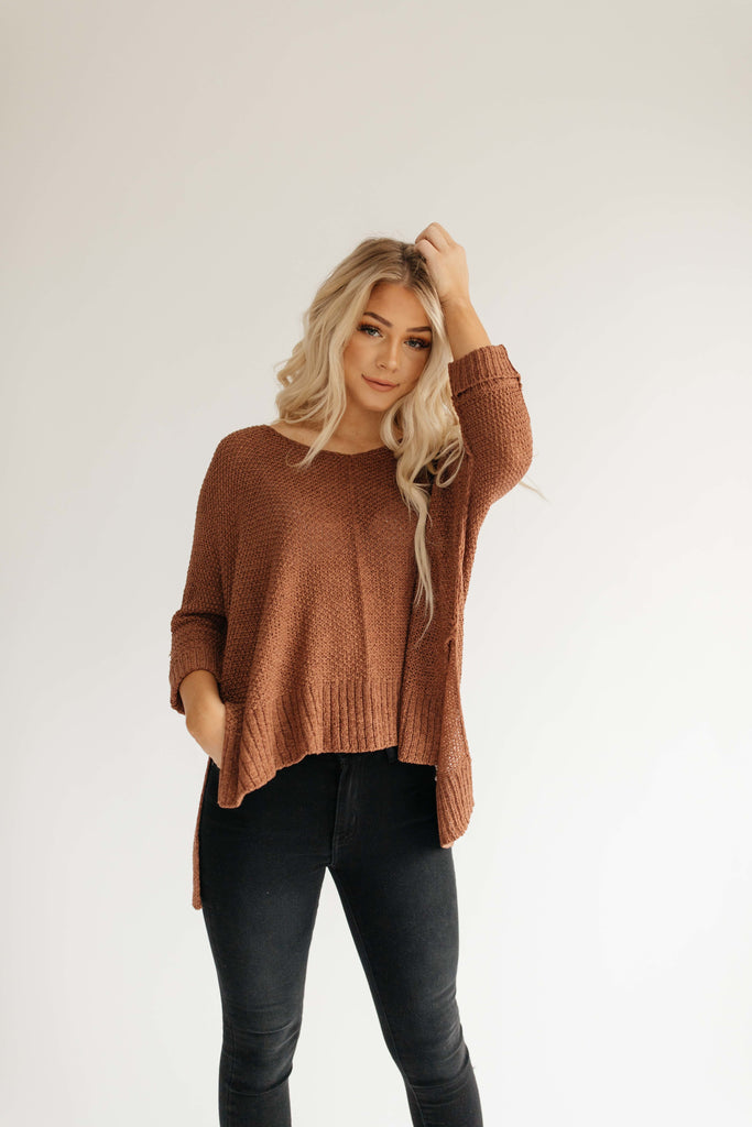 lucky you sweater // copper