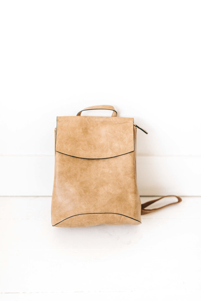 kendall backpack // taupe *restocked*