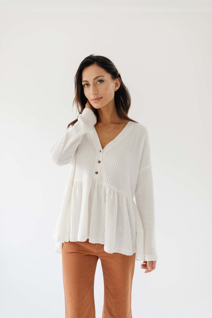 tamera top // white