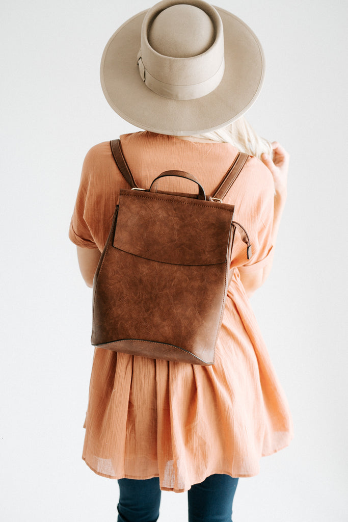 kendall backpack // coffee *restocked*