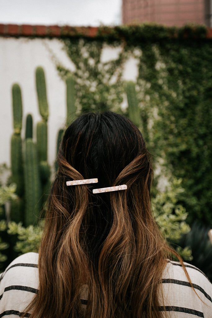 chill girl hair clip set