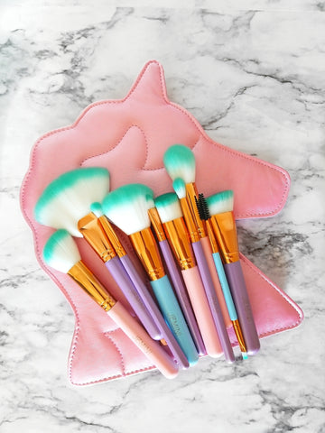 Unicorn 10pc Brush Book