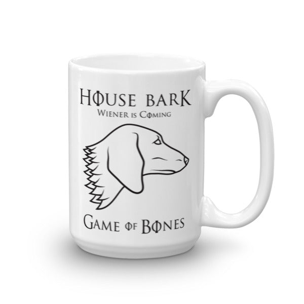 House Bark - Wiener is Coming Dachshund Mug