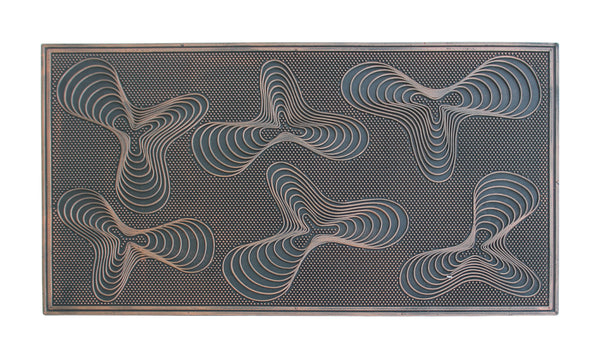 Geneva Rubber Pin Doormat