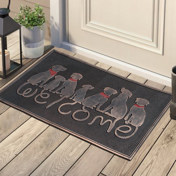 Dog Tail Rubber Doormat