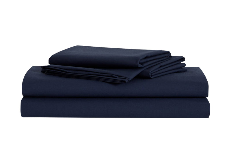 Organic Cotton Starter Sheet Set, Navy
