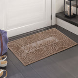 Brocade Welcome Eco-Poly Multi-Use Doormat