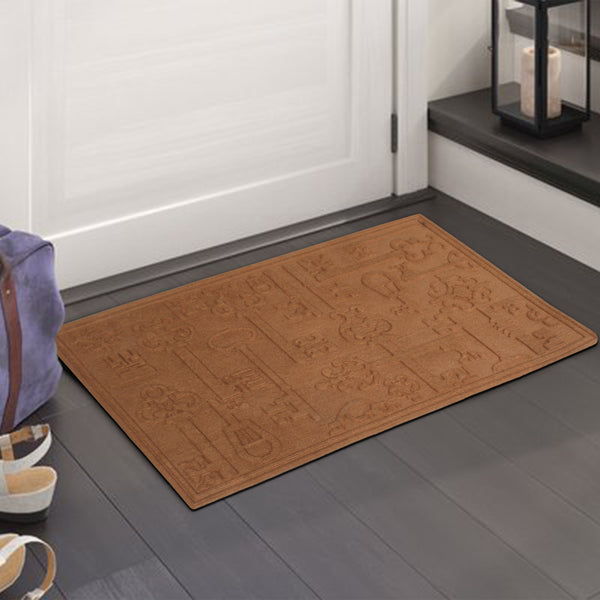 Key Decorative Design Eco-Poly Multi Use Mat