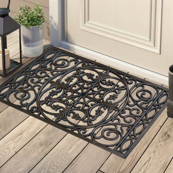 Elegant Star Pattern Doormat