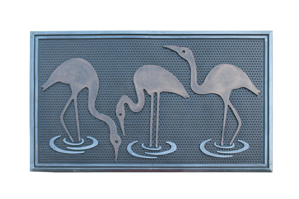 A1HC First Impression Flamingo Rubber Pin Mat, Beautifully Copper, Black - A1HCSHOP