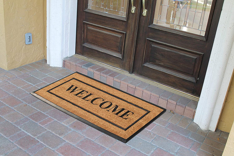Picture Frame Welcome Doormat