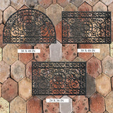 Rubber 3-Piece Doormat