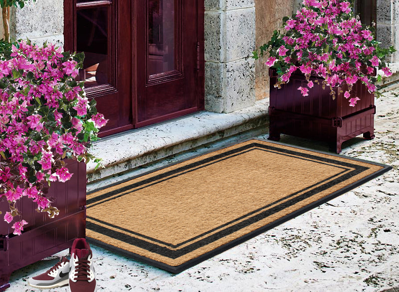 "First Impression Markham Border Double Extra Large Doormat (30"" x 48"") - A1HCSHOP"