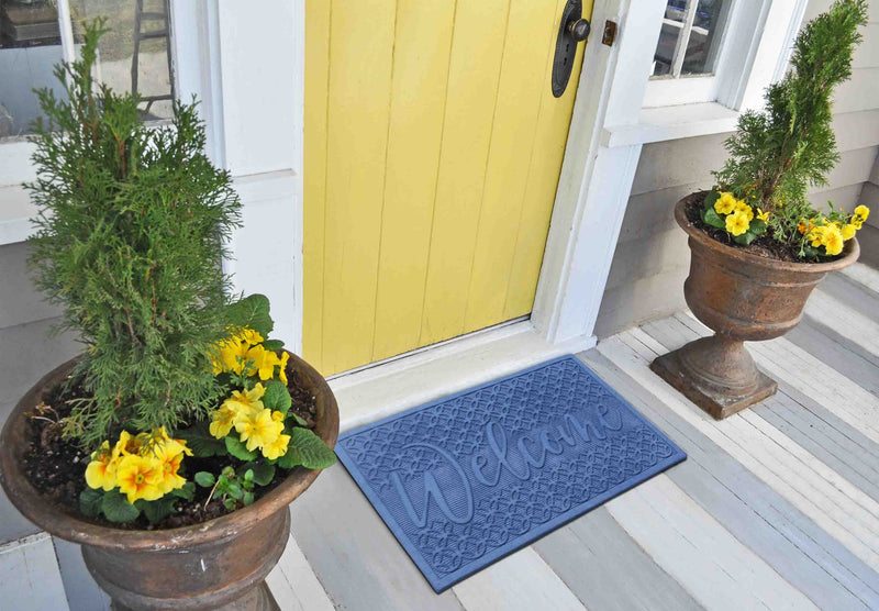 Royal Welcome Eco-Poly Multi Use Doormat