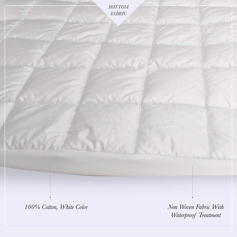 Down Alternative Waterproof Mattress Pad - A1HCSHOP
