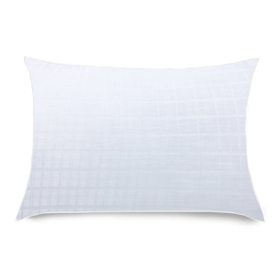 "Down Alternative Tencel and Cotton Pillow - White, 20"" X 30"""