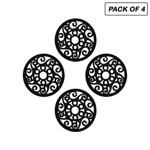 Rubber Garden Stepping Stone, Set Of 4