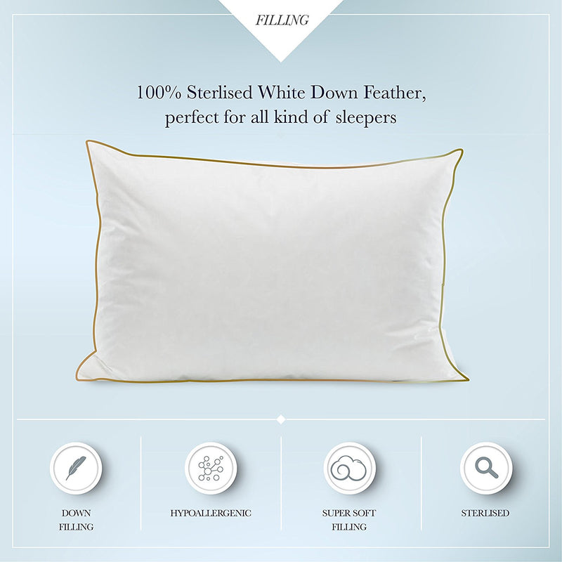 Luxury Duck Down Pillow