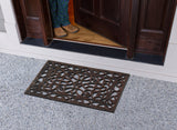 Rubber Pin Door Mat with Beautifully Hand Bronze Finish