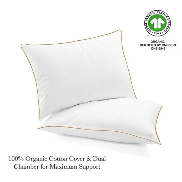 Chamber Duck Down Pillow + Free Pillow Protector
