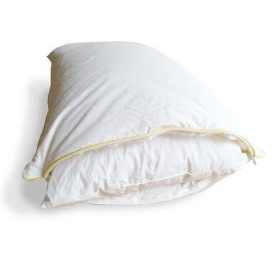"Down Pillow in a Pillow with Shredded Memory Foam Inner, 20"" X 30"""