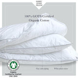 Down Alternative 2-IN-1 Gusset Pillow