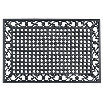 A1HC First Impression Zander Indoor/ Outdoor/Kitchen/Restaurant/Bathroom/Pool Rubber Mat (24-inch x 36-inch)