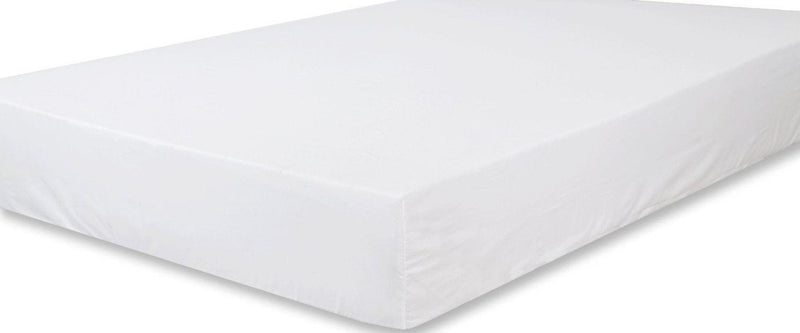 Solid Organic Cotton Wrinkle Resistant Extra Deep White Fitted Sheet 4 Pack