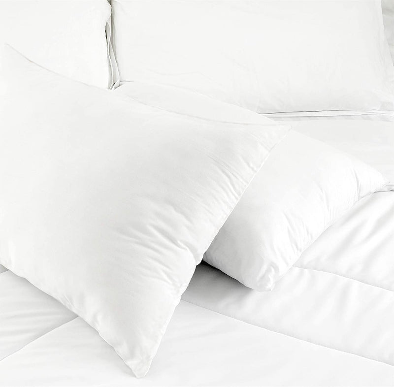 100% Organic Cotton 300 TC Sateen Pillowcase Pair