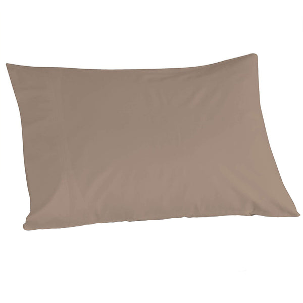 "100% Cotton Khaki Color Pillowcase Pair, 21"" x 32"" - A1HCSHOP"
