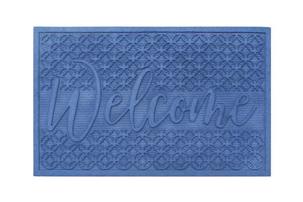 Hewitt Welcome Eco-Poly Indoor/Outdoor Mat