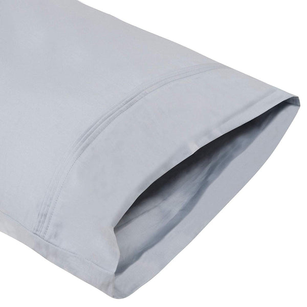 Organic Cotton Light Blue Pillowcase Pair - A1HCSHOP