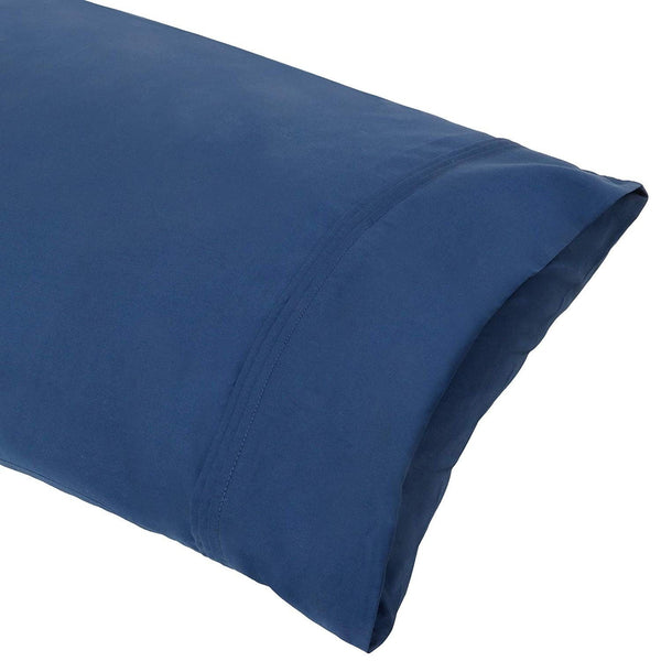 Organic Cotton Navy Pillowcase Pair - A1HCSHOP