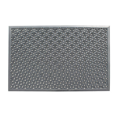 A1HC Multi Utility 24 In. X 36 In. Natural Rubber Scraper Commercial/Residential Doormat