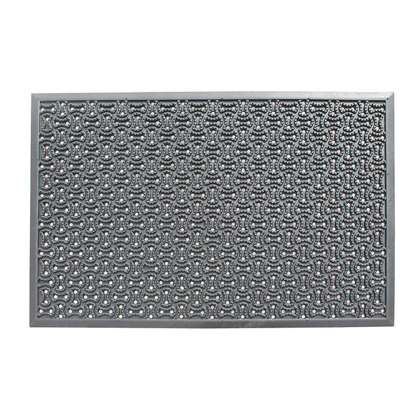A1HC Multi Utility 24 In. X 36 In. Natural Rubber Scraper Commercial/Residential Doormat - A1HCSHOP