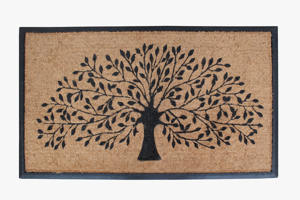 Shredding Tree Rubber Coir Door Mat