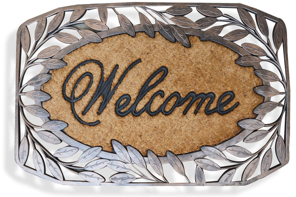 Brush Rubber and Coir Door Mat - A1HCSHOP