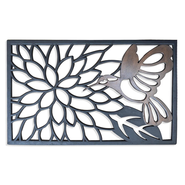 Hummingbird Bronze Rubber Mat - A1HCSHOP