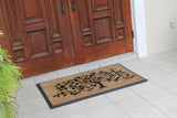 Molded Brush Life of Tree Double Door Mat