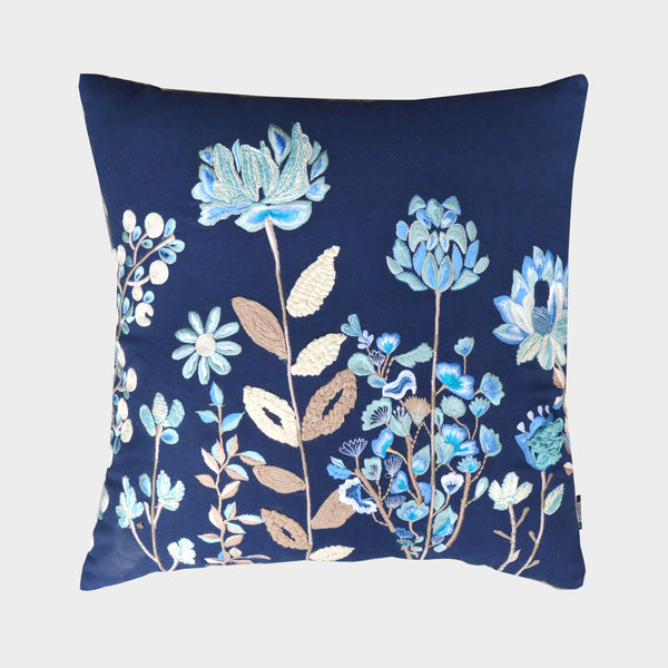 "A1HC Georgia Floral Cotton Throw Pillow (20"" X 20"" X 4"")"