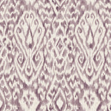 Purple Damask Designer Organic Cotton Drapery - A1HCSHOP