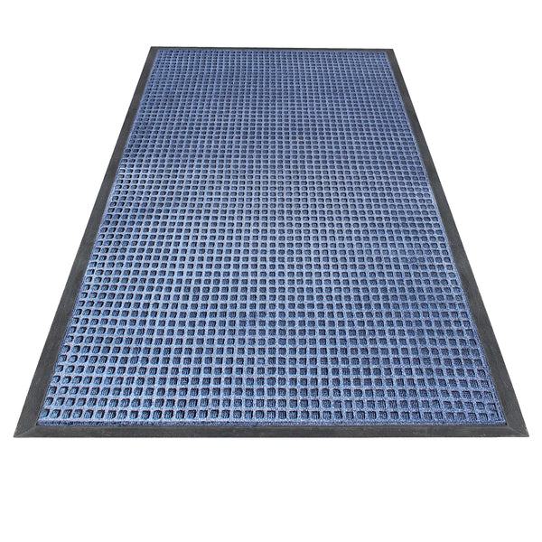 "A1HC Rub-Poly Multi Utility Indoor/Outdoor 31"" X 48"" Scraper Doormat (Blue) - A1HCSHOP"