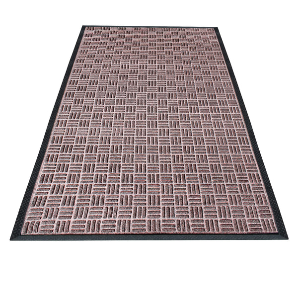 "A1HC Rub-Poly Multi Utility Indoor/Outdoor 36"" X 60"" Scraper Doormat (Brown) - A1HCSHOP"