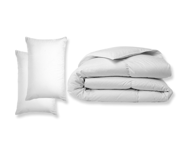 Basic Bundle Comforter and Pillows