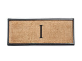 Rubber and Coir Monogrammed Doormat