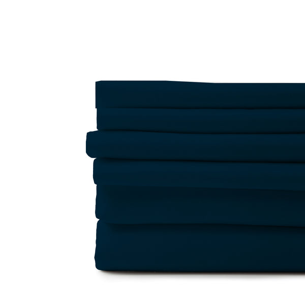 Organic Cotton Sheet Bundle-Navy Blue