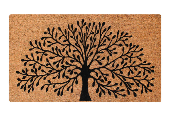 Tree of Life Floral Doormat