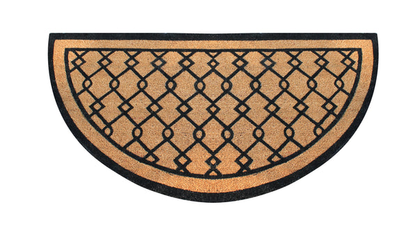 Hand Crafted Entry Double Doormat